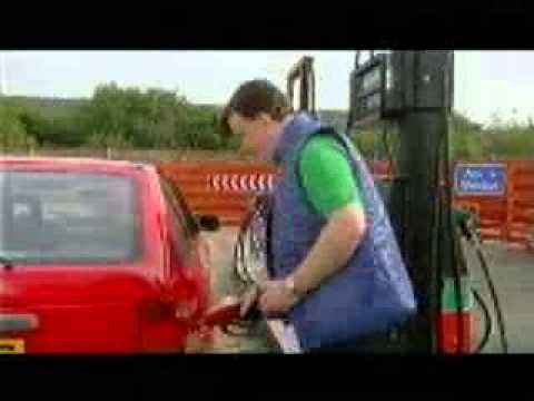 Kliďas na pumpě