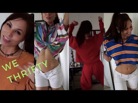 I'M VLOGGING?! Thrift Store Haul + Try On!