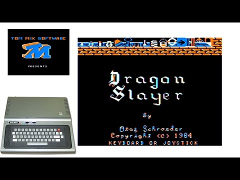 Dragon Slayer - 1984 - TRS-80 Color Computer Game