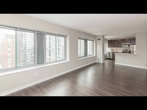 A northeast corner one-bedroom on the River North / Gold Coast border