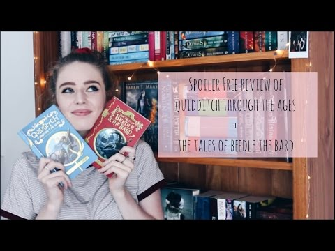 TALES OF BEEDLE THE BARD + QUIDDITCH THROUGH THE AGES BOOKTALK