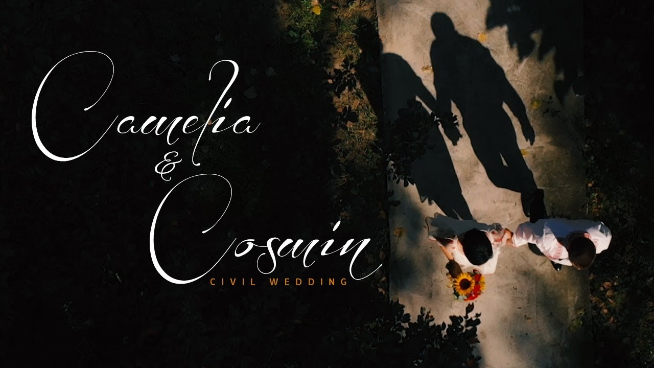 Camelia & Cosmin - Civil Wedding | FilmariCuDrona.com