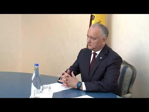 Șeful statului a avut o întrevedere cu conducătorii businessului mic și mijlociu