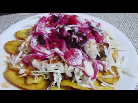CHULETAS CON TAJADAS😍 |  HONDURENAS