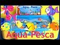 Brinquedo De Pescaria Com gua De Verdade Aqua Pesca Gam