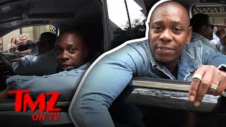 Video Our Photog Hilariously Tries To Keep Up With Dave Chapelle | TMZ TV MP3, 3GP, MP4, WEBM, AVI, FLV Januari 2018
