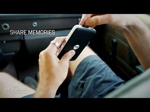 Share on Social Media with MobileLite Wireless G2 Reader