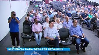 Audiência pública em Marília discute instalação de pedágios na região