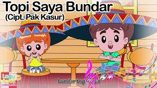 Download lagu Topi Saya Bundar Pak Kasur Mp3