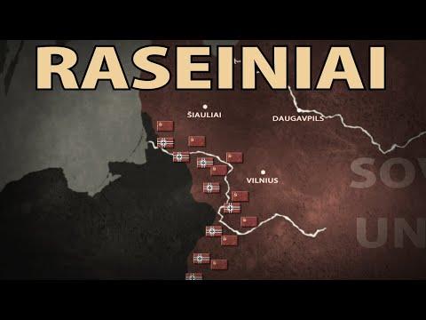The Battle of Raseiniai 1941