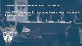 Click to play: Are U.S. Colleges and Universities Barring Asian Applicants Based on their Race?