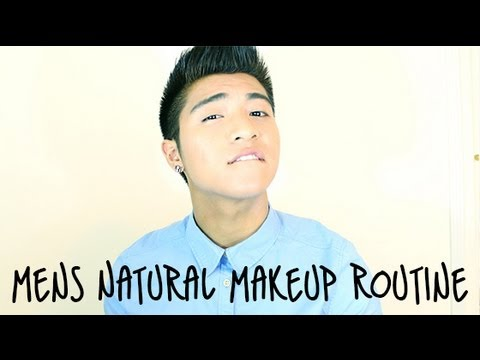 Mens' Natural Makeup Tutorial