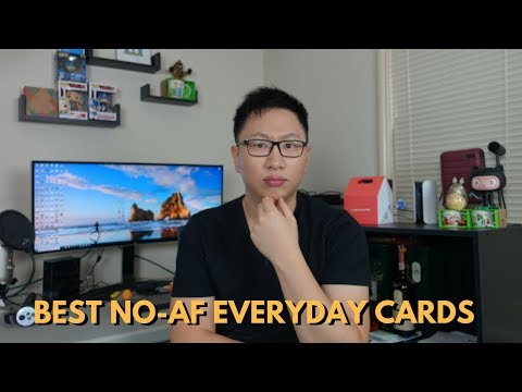 Best No Annual Fee Everyday Credit Cards (Non-Category Spend)