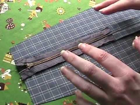 How to Sew a Zipper In a Seam