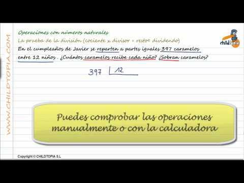 Vídeos Educativos.,Vídeos:Prueba de la división 7