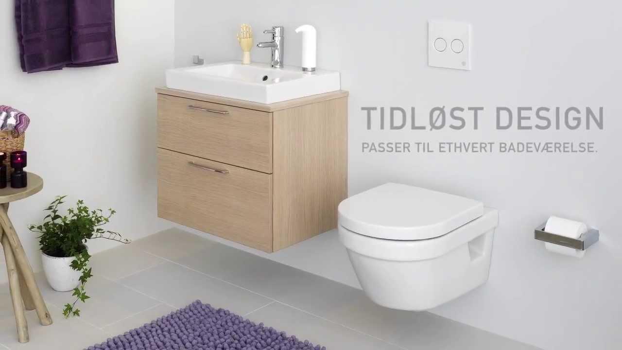Toilet Nautic 1510 – skjult P-lås, Hygienic Flush