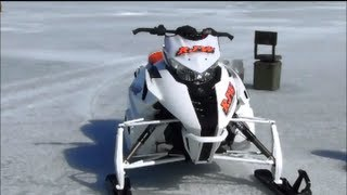 10. ARCTIC CAT F1100 TURBO VS. SKI DOO 800 MOD.