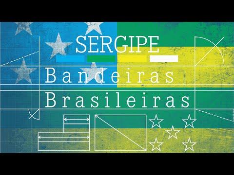 Bandeira do SERGIPE - Bandeira Brasileiras