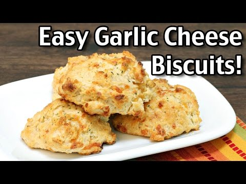 Easy Garlic Cheese Biscuits