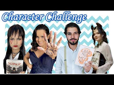 Character Challenge por Literamigos | O Refúgio