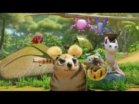 The jungle bunch in hindi S2 🐯🐨🐊🐲🐸🐸episode 5 The mini jungle bunch