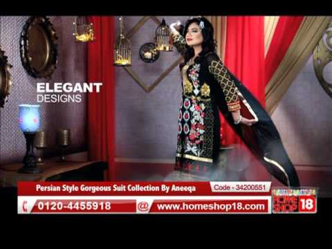 Homeshop18.com - Persian Style Gorgeous Suit Collection By Aneeqa