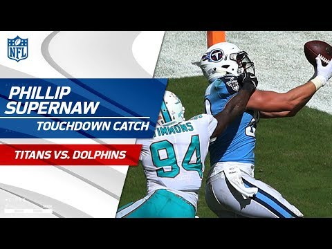 Video: Cassel Leads Big Drive Capped Off by Supernaw's TD Catch! | Titans vs. Dolphins | NFL Wk 5