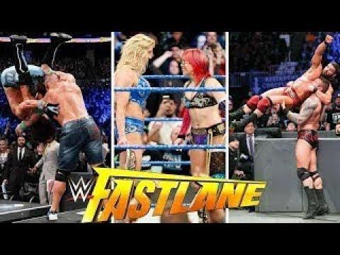 WWE Fastlane Highlights HD 11 March 2018   Fastlane Highlights HD