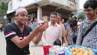 मगर्नीका सेलरोटी Pani Puri-2| Pashupati Sharma & Janaki Tarami Magar