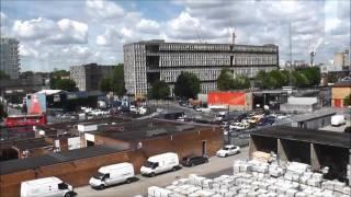 London Dockland Light Rail ride