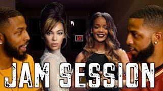 "Download Lagu ""JAM SESSION"" EP. 1 - BEYONCE vs. RIHANNA #MALLORYBROS 4K Mp3"