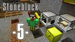 Dansk Minecraft - Stoneblock #05 - Gratis strøm og første maskiner (HD)