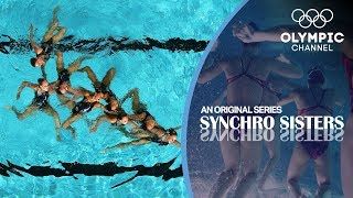 "Dive into the historic rivalry between the Aquamaids and the Aquanuts, the two most elite synchronized swimming clubs in the US, and discover the challenges of this beautiful sport.Follow the behind-the-scenes routine of Synchronized Swimming teams in ""Synchro Sisters"": http://bit.do/SynchroSistersENSubscribe to the official Olympic channel here: http://bit.ly/1dn6AV5"