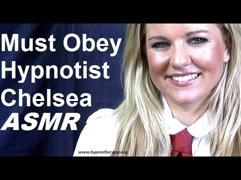 #Hypnosis: #Hypnotist Chelsea's direct command experiment. Will you obey her commands? #ASMR #NLP (видео)