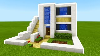 Minecraft Tutorial: How To Make The Ultimate Modern House 2019 #2