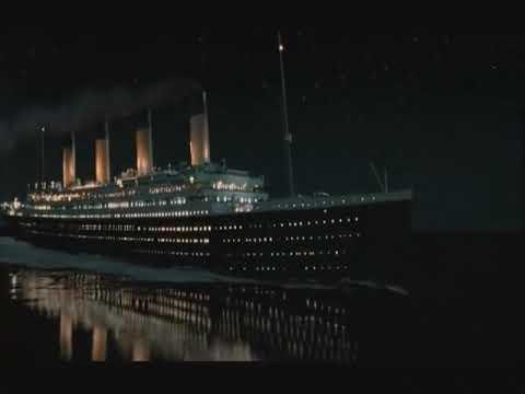 Titanic Ship Sinking Full Scene
