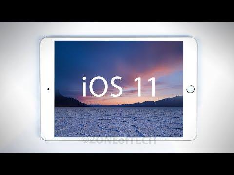 iOS 11 (iPad) - FULL Review!
