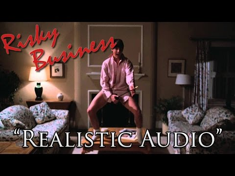 The Risky Business Dance Scene With Realistic Audio Is