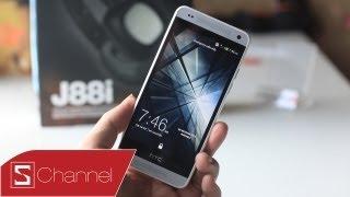 Schannel -Đánh giá HTC One mini: Thiết kế tốt, màn hình đẹp...- CellphoneS