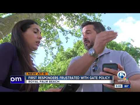 First responders fed up with their HOA community in Royal Palm Beach