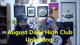 August Daily High Club Unboxing by Pedro's Grow Room