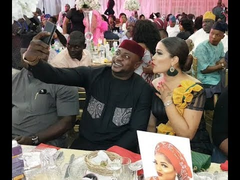 Adunni Ade Stunning Outfit As She Sat Down Beside Odunlade Adekola at Kemi Afolabi's Birthday Party
