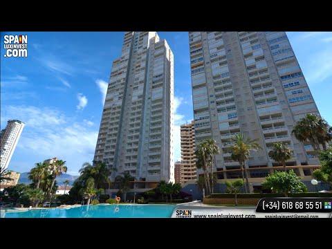Для отдыха и инвестиции - квартира у моря в Испании/Недвижимость в Бенидорме/Аликанте/Коста Бланка