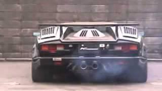 To jest dopiero moc! Legendarny dźwięk Lamborghini Countach LP500S!