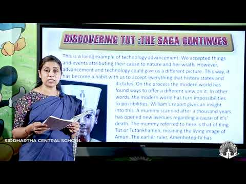 CLASS 11 ENGLISH Discovering Tut Part 3