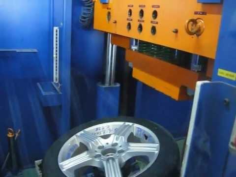 Испытание в лаборатории диска WSP Italy W763 DIONE на удар обода (Mercedes)