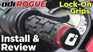 7. ODI Rogue Lock-On Grip Install & Review - Honda Aquatrax
