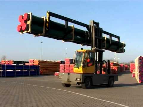 5.0 to 45.0 Tonne Side Loading Forklift | Baumann GX/GS Series