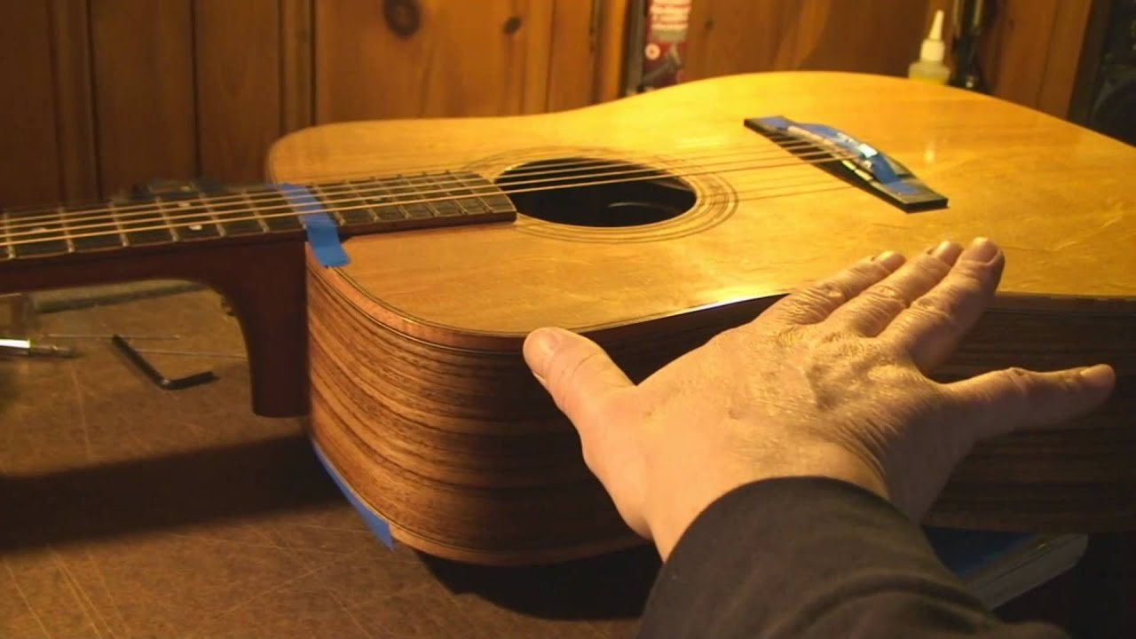 Acoustic Guitar Neck Reset Part 1