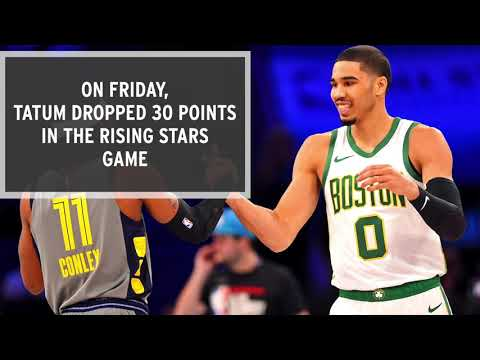 Video: Jayson Tatum Impresses During NBA All-Star Weekend
